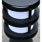 Close-up of the Black Finish on the Pillar Light