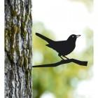 Blackbird Tree Spike Finished in a Black Finish