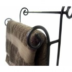 Blacksmiths Wrought Iron Towel Rail