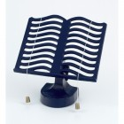Cast Iron Cook Book Stand - Blue