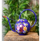 Blue Watering can with a Large Carry Handle