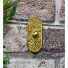 Solid Brass front door bell