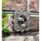 Old Fashioned ornate door bell with push button