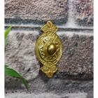 Solid brass ornate door buzzer