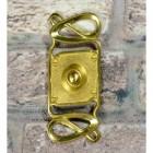 Polished Brass Swirl Design Door Bell