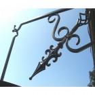 """""""Fenwick"""" Hanging Flower Basket & Matching Bracket"""