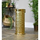 Ornate Umbrella & Walking Stick Stand Made From Brass