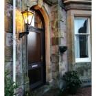 Dorchester Brass Lantern on Capella Bracket In Situ