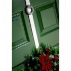 Bright Chrome Wreath Design Wreath Hanger