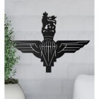 British Parachute Regiment Wall Art in Situ