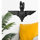 British Parachute Regiment Wall Art on White Wall
