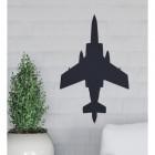 Black Blackburn Buccaneer Aircraft Wall Art