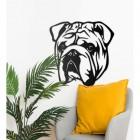 Bulldog Art in Situ in the Home