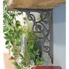Trellis Iron Shelf Brackets 24 x 19cm