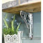 Bright Chrome Coalbrookdale Shelf Bracket 18 x 13cm
