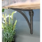 Natural Iron simplistic designed shelf bracket