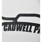 Cadwell Park Race Track Natural Steel Wall Art Close-Up