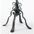 Lawrence Cathedral Candle Holder Heavy Duty Wrought Iron