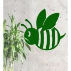Cartoon Bee in Green Finish