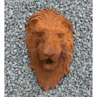 Cast Iron Rustic Lion Head