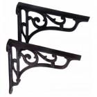 Natural Iron Large Shelf Bracket