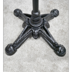 Close-up of the Ornate Feet on the Table Base