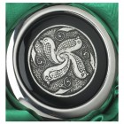 Whiskey Flask With a Celtic Birds Design