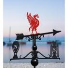 Deluxe Liverpool FC Trophies Weathervane