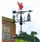 Deluxe Liverpool FC Weathervane on Wall