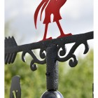Deluxe Liverpool FC Weathervane Scrolled Details