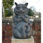 "Wonderland ""Cheshire cat"" Garden Ornament"