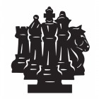 Iron Chess Weathervane