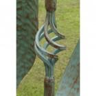 Verdigris Finish Wind Spinner Details