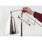 """""""Gilderstone"""" Round Base Aluminium Desk Lamp"""