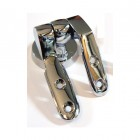Chrome Toilet Seat Hinge Without Bar