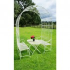 Clancy Manor Rose Arch & dining collection
