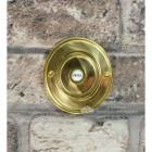 Classic Round Brass Bell Push