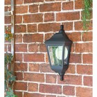 """Clifton"" Porch Wall Light in Use in the Garden"