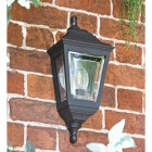 """Clifton"" Porch Wall Light Finished in Black"