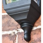 "Traditional Design on the ""Clifton"" Flush Wall Mounted Porch Light"