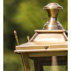 Antique Brass Dorchester Lamp Post & Lantern Set 2.3m