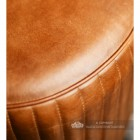 Close Up Of Brown Leather Seat