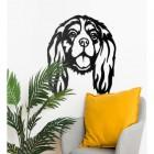 Cavalier King Charles Spaniel Wall Art in Situ in the Home