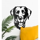 Labrador Wall Art in Situ in the Home