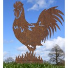 Rustic Rooster Silhouette