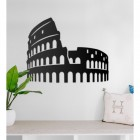 Rome Colosseum Steel Wall Art in a Modern Home