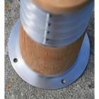 View of the round Steel Base