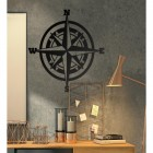 Compass Wall Art in Situ in the Office
