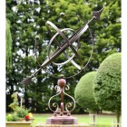 Concordia Armillary Scroll Design Created From Wrought Iron