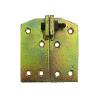 Yellow Pacivated Steel Conservatory Bracket
